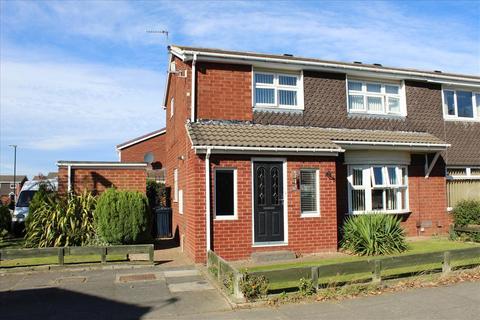 3 bedroom semi-detached house for sale - GAYHURST CRESCENT, MILL HILL, Sunderland South, SR3 2TB