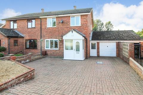 3 bedroom semi-detached house for sale - Meadow Road, Costessey, Norwich