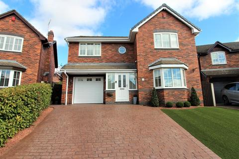 4 bedroom detached house for sale - Orchard Gardens, Garden Village, Wrexham