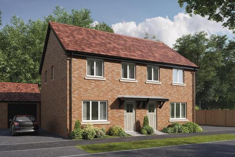 3 bedroom terraced house for sale - Plot 299, The Tailor at Bellway at Pirton Fields, Cheltenham Road East, Churchdown GL3