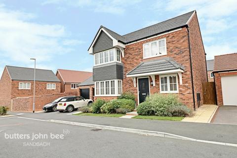 4 bedroom detached house for sale - Trentlea Way, SANDBACH