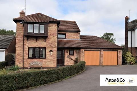 4 bedroom detached house for sale - Riverside Close, Great Glen, Leicestershire.