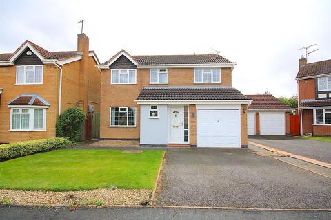 4 bedroom detached house for sale - Kestrel Close, Leicester Forest East