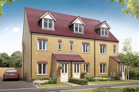 3 bedroom end of terrace house for sale - Plot 113, The Windermere at The Hamptons, Keele Road ST5