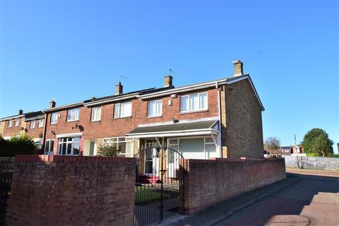 3 bedroom terraced house for sale - Kingsclere Square, Downhill, Sunderland