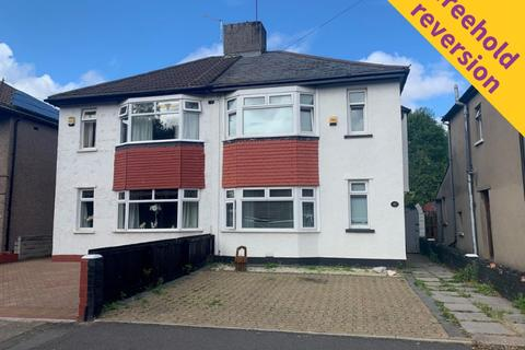 3 bedroom semi-detached house for sale - Freehold Subject to a Short Lease at 17 Lansdowne Avenue West, Canton, Cardiff, CF11 8FS