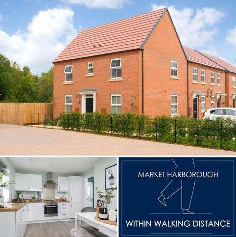 3 bedroom semi-detached house for sale - Hadley at Burnmill Grange Burnmill Road, Market Harborough LE16