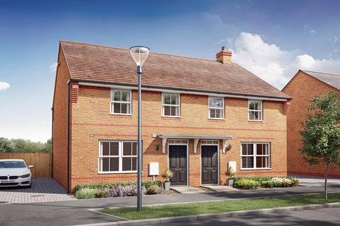 3 bedroom semi-detached house for sale - Archford at DWH Canal Quarter @ Kingsbrook Burcott Lane, Broughton, Aylesbury HP22