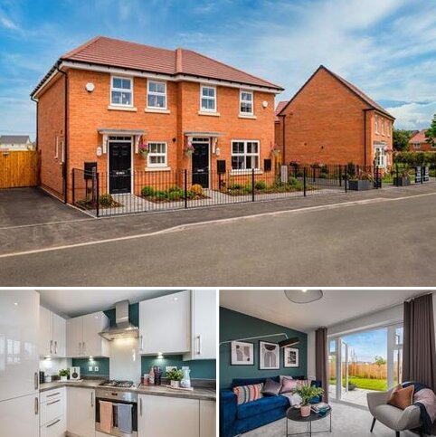 2 bedroom end of terrace house for sale - Wilford at Abbots Green Old Stowmarket Road, Woolpit IP30