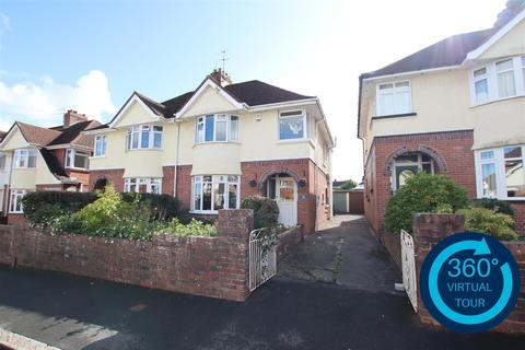 4 bedroom semi-detached house for sale - Kennerley Avenue, Exeter