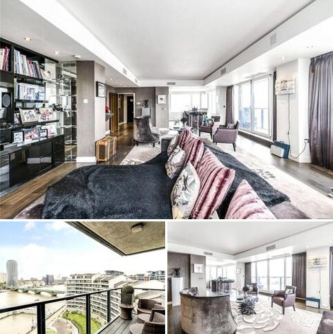 4 bedroom apartment for sale - The Belvedere, Chelsea Harbour, Chelsea, London, SW10