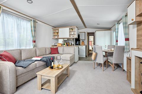 2 bedroom holiday lodge for sale - ABI Wimbledon with front opening doors at Chesil Vista Holiday Group Chesil Vista Holiday Park, Portland Road DT4