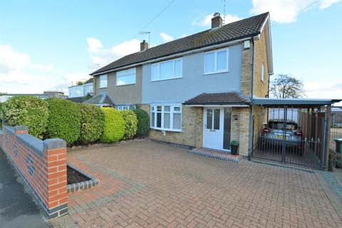 3 bedroom semi-detached house for sale - Gloucester Crescent, Wigston, Leicestershire