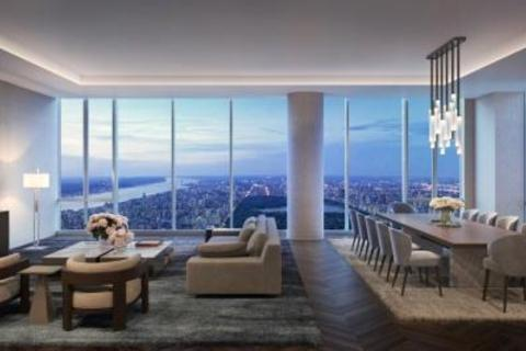8 bedroom apartment - 217 West 57th Street, 127/128, Central Park Tower, Midtown West, New York