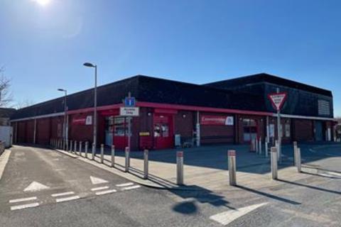 Shop for sale - Former Co-Op, College Street, Ammanford, Carmarthenshire