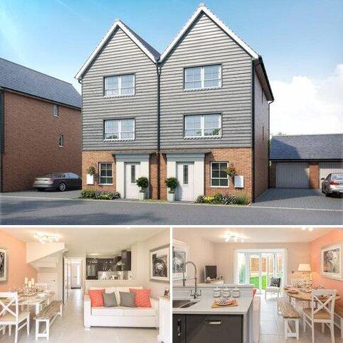 4 bedroom semi-detached house for sale - Haversham at Canal Quarter at Kingsbrook Burcott Lane, Broughton, Aylesbury HP22