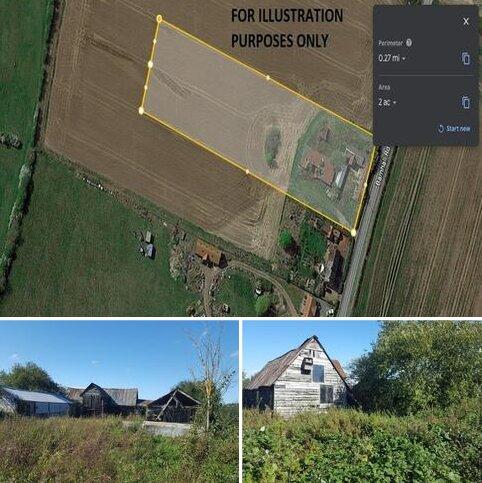 Residential development for sale - Lovedowns Farm barn, buildings and land