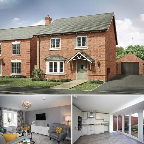 3 bedroom detached house for sale - Plot 453, The Blaby at Davidsons at Wellington Place, Davidsons at Wellington Place, Leicester Road LE16