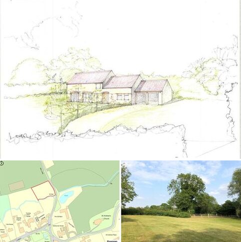 Plot for sale - Mill Lane, Pickworth, Sleaford, Lincolnshire, NG34