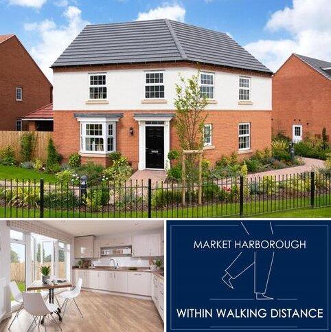 4 bedroom detached house for sale - Ashington at Burnmill Grange Burnmill Road, Market Harborough LE16