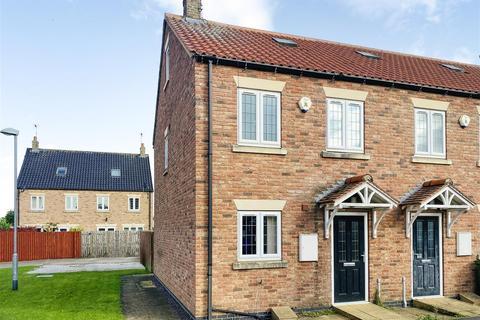 3 bedroom end of terrace house for sale - Church View, Eastrington, Goole