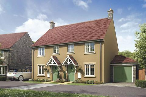 3 bedroom semi-detached house for sale - The Gosford - Plot 633 at Lyde Green, Honeysuckle Road, Lyde Green BS16