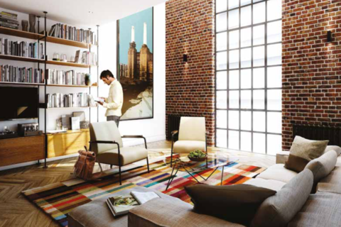1 bedroom apartment for sale - Switch House East, Battersea Power Station