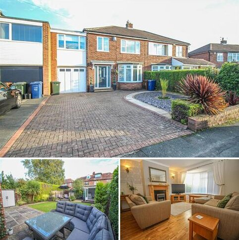 4 bedroom semi-detached house for sale - Davenport Drive, Brunton Park