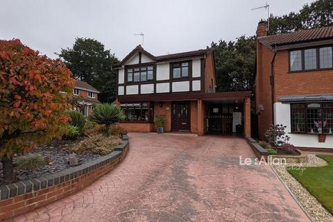 4 bedroom detached house for sale - Coppice Rise, Brierley Hill