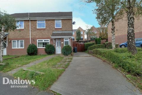 3 bedroom semi-detached house for sale - Hafod View Close, Brynmawr