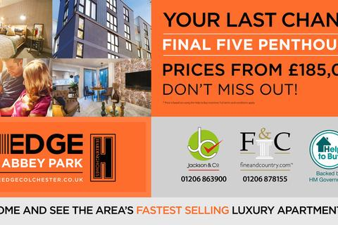 2 bedroom apartment for sale - The Edge, Abbey Park, Colchester