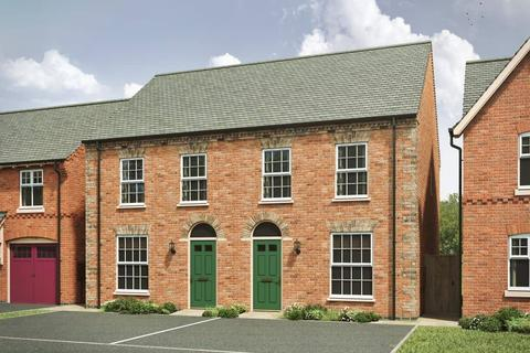 3 bedroom semi-detached house for sale - Plot 162, 163, The Carnel GE 4th Edition at Ashby Gardens, Tudor Rise, Burton Road LE65