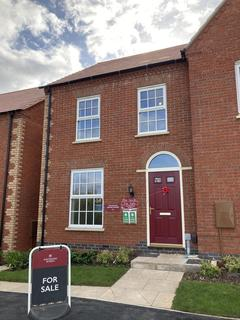 3 bedroom semi-detached house for sale - Plot 315, The Carnel GE 4th Edition at Ashby Gardens, Tudor Rise, Burton Road LE65