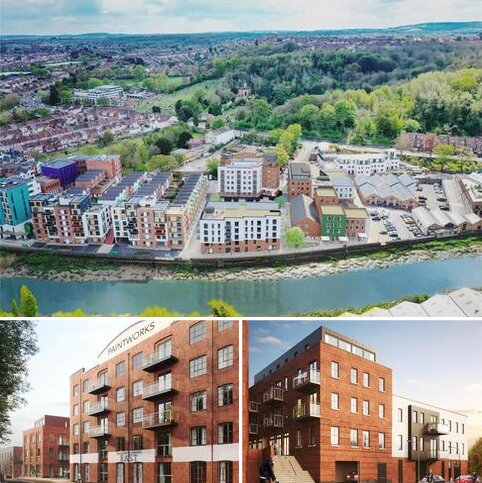 1 bedroom apartment for sale - Apartment 13 The Colthurst, Paintworks Phase IV, Arnos Vale, Bristol, BS4