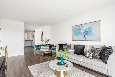 2 bedroom flat for sale - Apartment 32, Southsea Heights at Acton Gardens,  Corbet Gardens London  W3 8TF W3