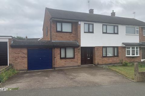 4 bedroom semi-detached house to rent - Halcroft Rise, Wigston, LE18