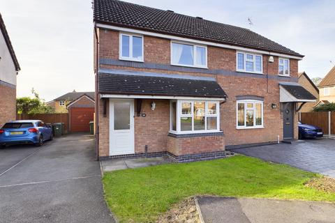 3 bedroom semi-detached house for sale - Whitebeam Close, Narborough, Leicestershire