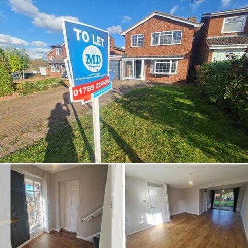3 bedroom detached house to rent - Longhurst Drive, Stafford ST16