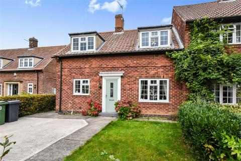 2 bedroom end of terrace house for sale - White Rose Avenue, New Earswick, YORK