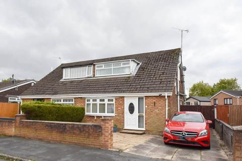 2 bedroom semi-detached bungalow for sale - Sandown Road, Beech Hill, Wigan, WN6 8QF
