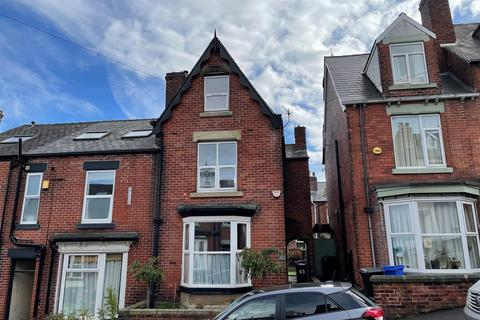 4 bedroom end of terrace house for sale - 65 Hunter House Road, Sheffield, S11 8TU