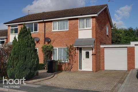3 bedroom semi-detached house for sale - Hardy Close, Thetford