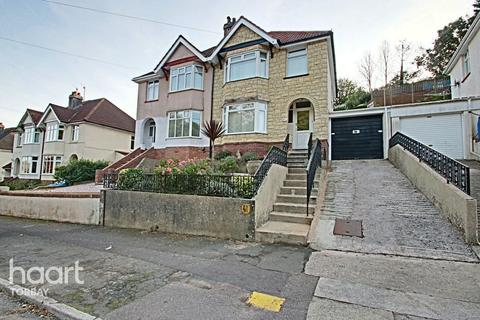 3 bedroom semi-detached house for sale - Occombe Valley Road, Paignton