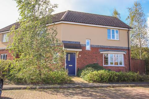 3 bedroom detached house for sale - Dr Torrens Way, New Costessey NR5