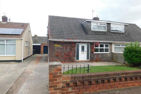2 bedroom semi-detached bungalow for sale - CATCOTE ROAD, HARTLEPOOL, Hartlepool, TS25 2NA