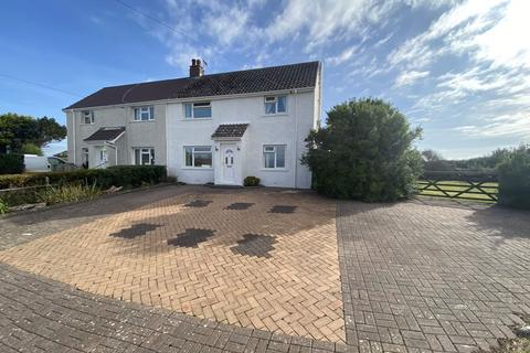 3 bedroom semi-detached house for sale - 10 Channel View, Marcross, The Vale of Glamorgan CF61 1ZE