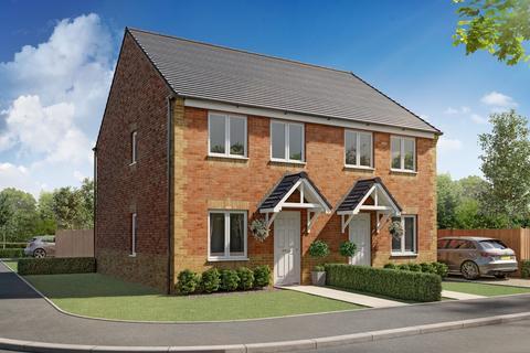 3 bedroom semi-detached house for sale - Plot 128, Lisburn at Model Walk, Model Lane, Creswell, Worksop S80