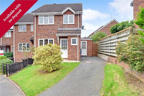 3 bedroom end of terrace house to rent - 2 Maple Close, Ludlow, SY8