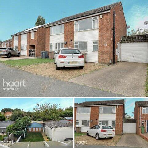 2 bedroom semi-detached house for sale - Alfriston Close, Stopsley, Luton