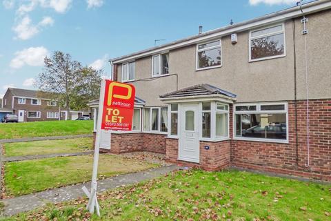 3 bedroom terraced house to rent - Huntingdon Drive, Cramlington, Northumberland, NE23 2FA